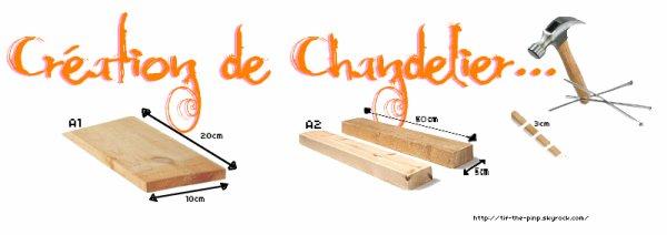 CREATION DE CHADELIERS... A VOS MARTEAUX, PRES, PARTEZ !