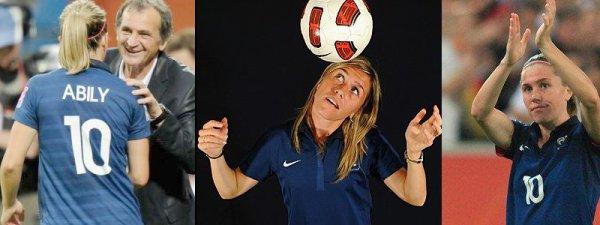 Soutien équipe de france féminine / Miser sur l'esprit d'équipe et de l'envie. (2012)