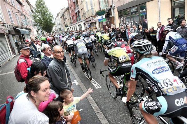 Critérium du Dauphiné a GIVORS