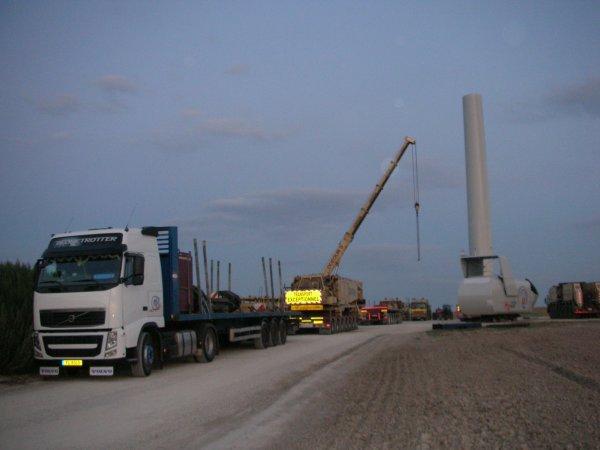 Moi aux chantier éolien de Payns (Troyes)