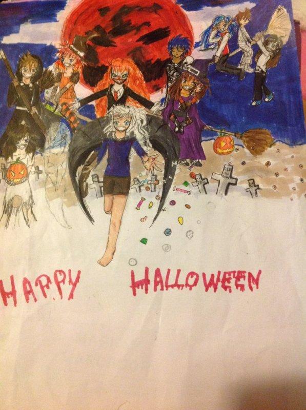 Happy Halloween (Toujours mes OCs)