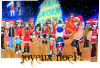 Frohe Weinachten,Shèng dàn kuài lè, Meri Kurisumasu, Merry Christmas....