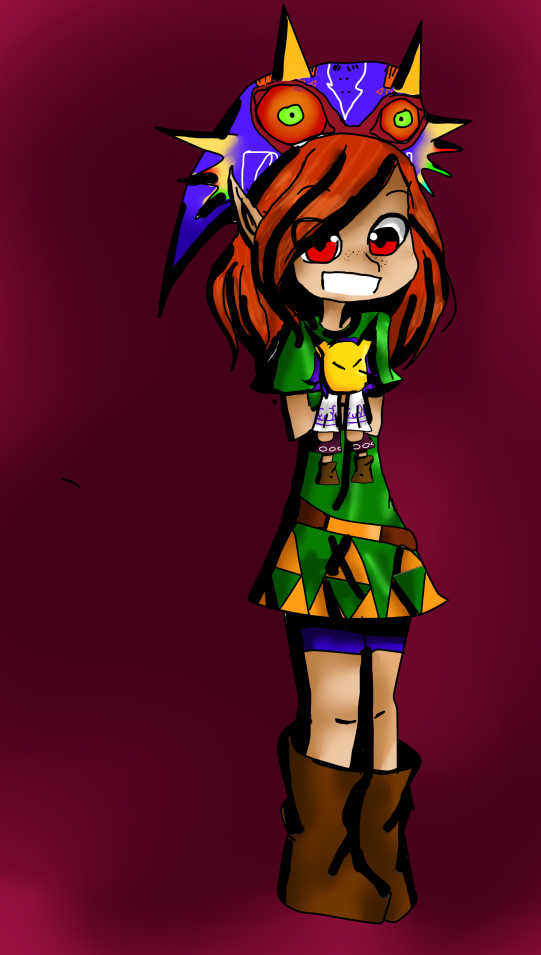 Okay me remet à Majora's Mask.