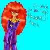 Naomi the happy mask salesman