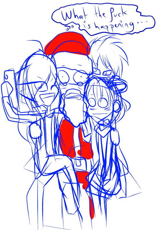 Oh des strips de Noel