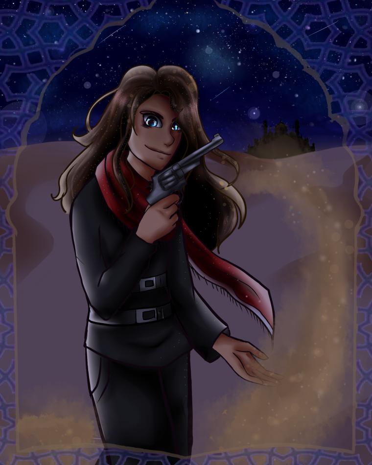 Fanart: Rebel of the Sands