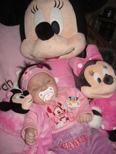 ma fille en mode minnie