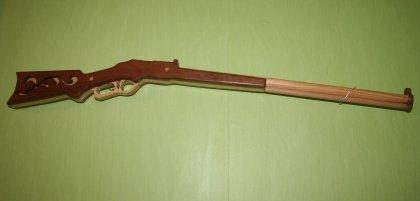 Carabine  en bois pour enfant