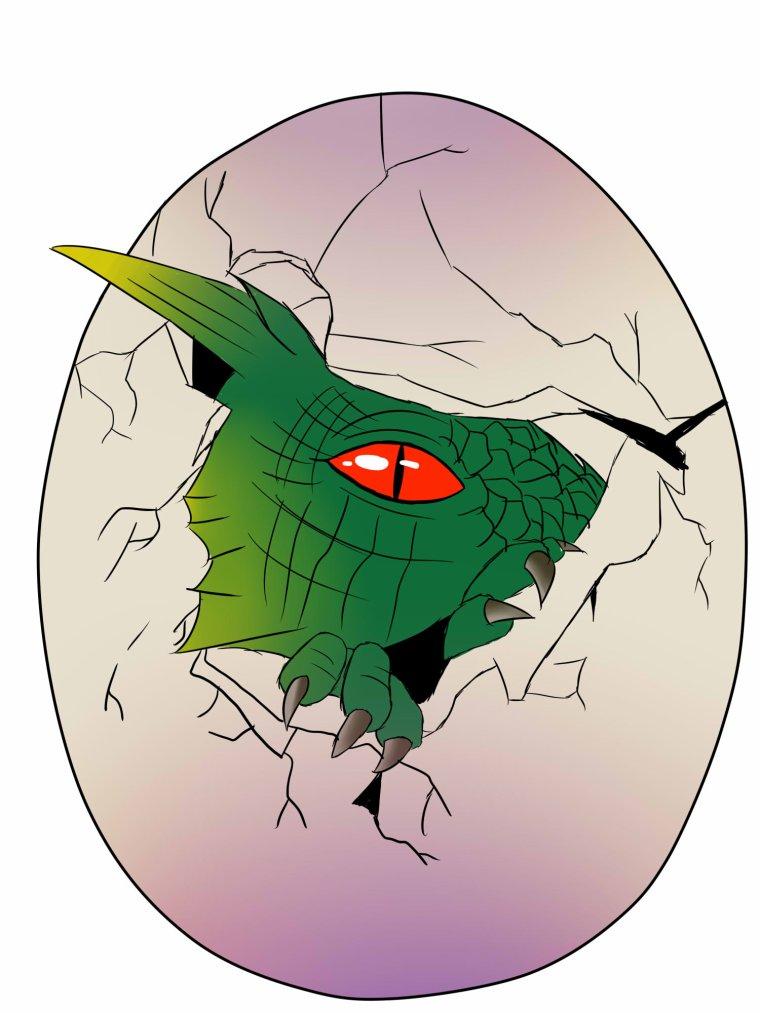 Dragons: avec et sans encrage