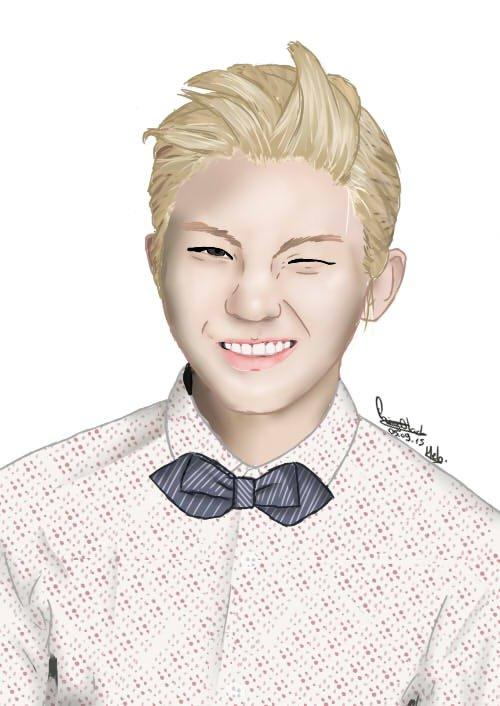 Seventeen Woozi portrait [+SPEED PAINT]