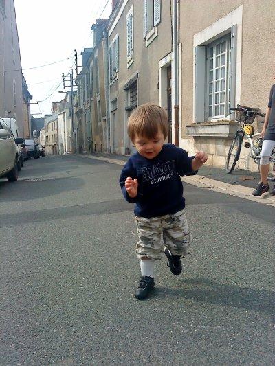 Mon fils Matheo 17 mois