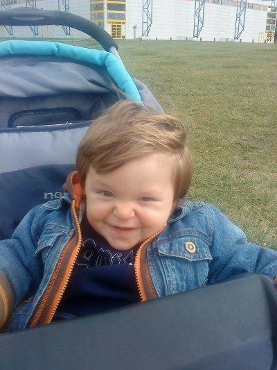 Matheo mon fils 17 mois