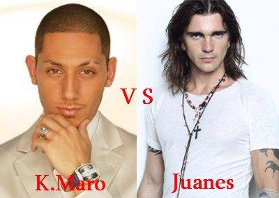 K.Maro vs Juanes