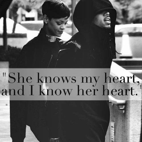 Ne me fais pas de belle promesse, ne me dit pas que tu m'aime toute une vie entière, sois juste là et prouve moi ton amour..♥ Chris Brown