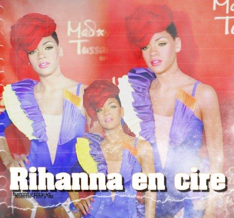 Rihanna en cire