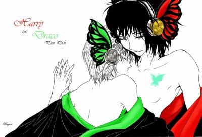 Illustration de ma fic Papillon par Mugen