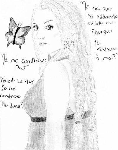 Illustration de ma fic Papillon par Fleur de Lisse