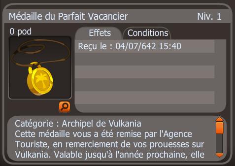 Amulette vacancier Dragouf Krolimea