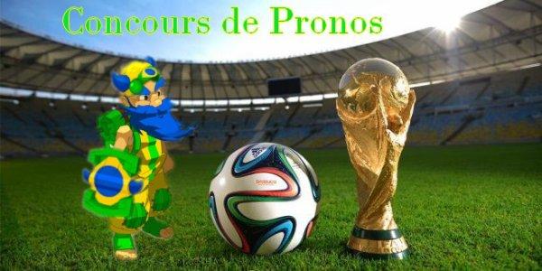 Concours de pronostiques Coupe Du Monde