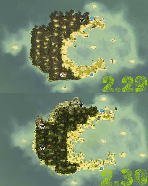 Refonte île de Moon 2.30