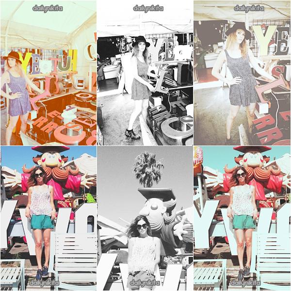 Lyndsy Fonseca ~ Photoshoot 2012 L. Fonseca a posé pour son amie Mimi Chica et sa ligne de vêtements.  Un coup de coeur pour ces photos.