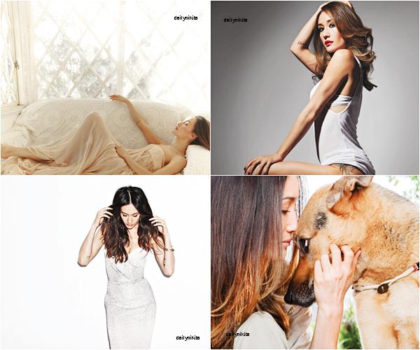 Voici 4 de mes photos coup de coeur de Maggie Q parmi. Impossible de choisir, laquelle préfère-tu?