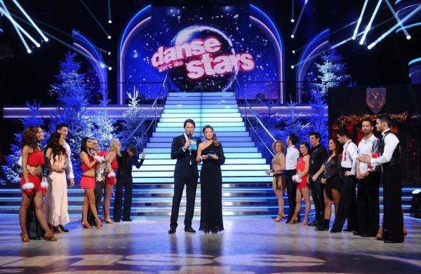 Danse avec les stars fêtent Noël.