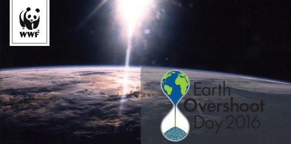 Aujourd'hui, lundi 8 août 2016, la planète vit déjà à crédit.