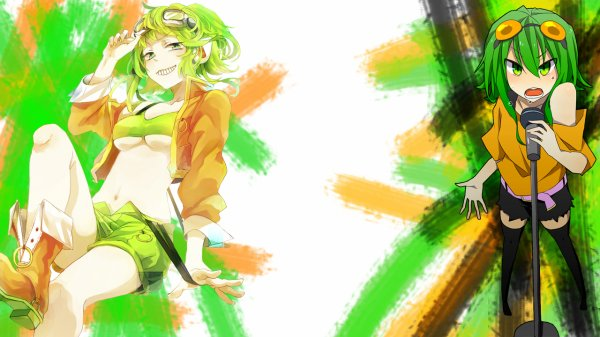 Habillage 15 / GUMI green orange