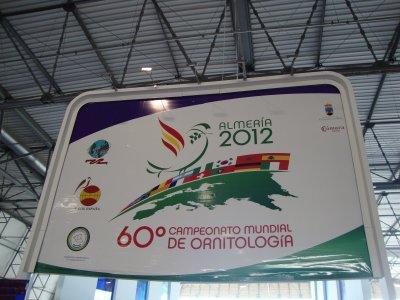 60 CAMPEONATO MUNDIAL DE ORNITOLOGIA ALMERIA 2012