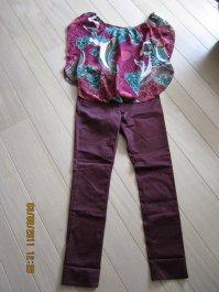 Ensemble blouse T38+pantalons T40 le tout pr 15¤