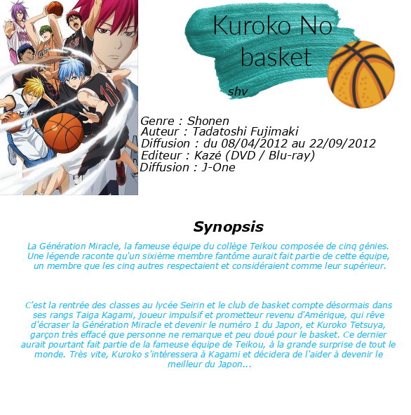 - Kuroko's Basket -