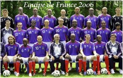 Equipe de france 2006 mes potes le foot et moi - Coupe du monde de foot 2006 ...