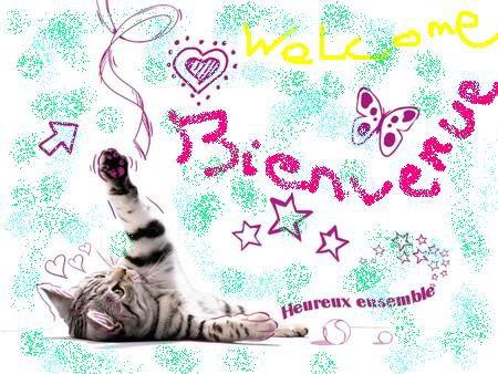 Bienvenue à tous!!