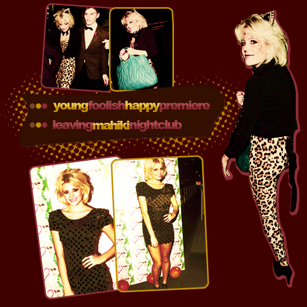 #06 ▪ young foolish happy premiere + candids on Halloween.