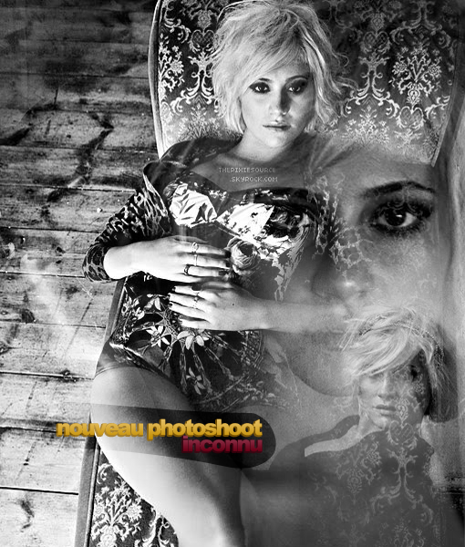 """#08 ▪ pixie visiting her old school """"Italia Conti Academy of Theatre Arts"""" + new photoshoot."""