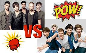 the wanted vs one direction