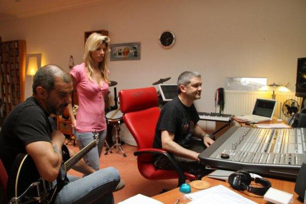 7 et 8 Juillet 2012: Emilie Smill => Enregistrement des guitares