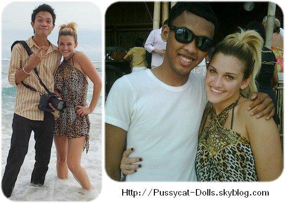 Ashley à Bali