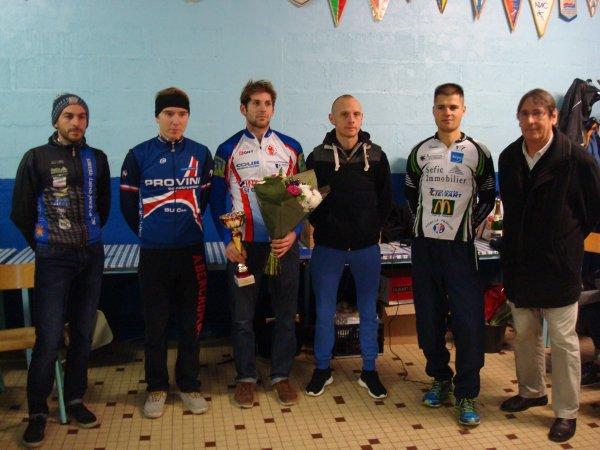 Samedi 20 Décembre 2014 --- 12ème Cyclo Cross de la Ville de Vitry le François, Les Classements
