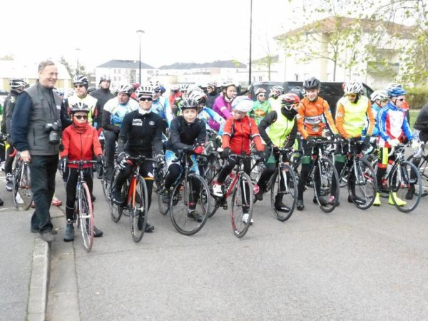 Samedi 19 Novembre 2016 --- Sortie vélo et conférence nutrition et sport avec Marion Rousse