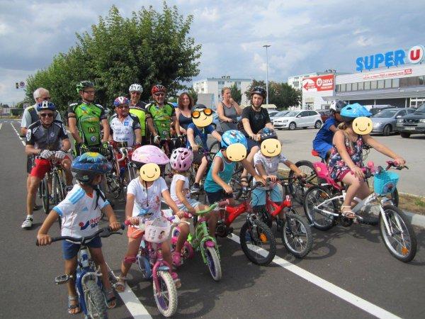 Mercredi 4 Juillet 2018 --- Inauguration de la piste cyclable à Frignicourt