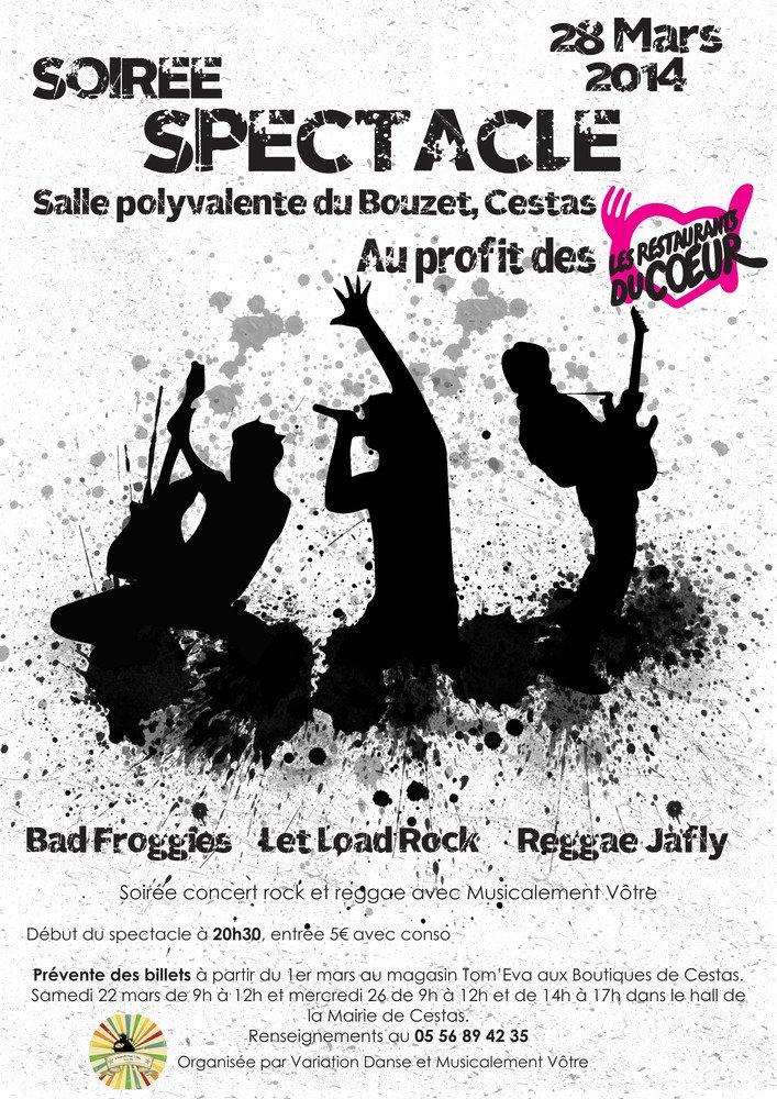 Concert pour les Restos !