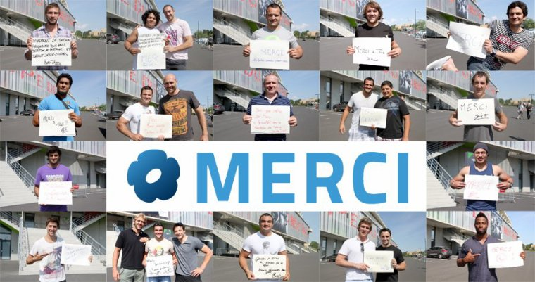 Les joueurs de Montpellier ne manquent jamais de remercier leurs supporters !! Une équipe authentique qui ne me déçoit jamais et qui reste simple !!   Merciii à vous ^^