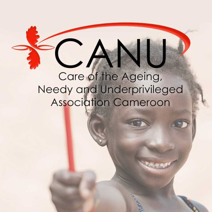 ABOUT 'CANU (CHARITY) Association CAMEROON'