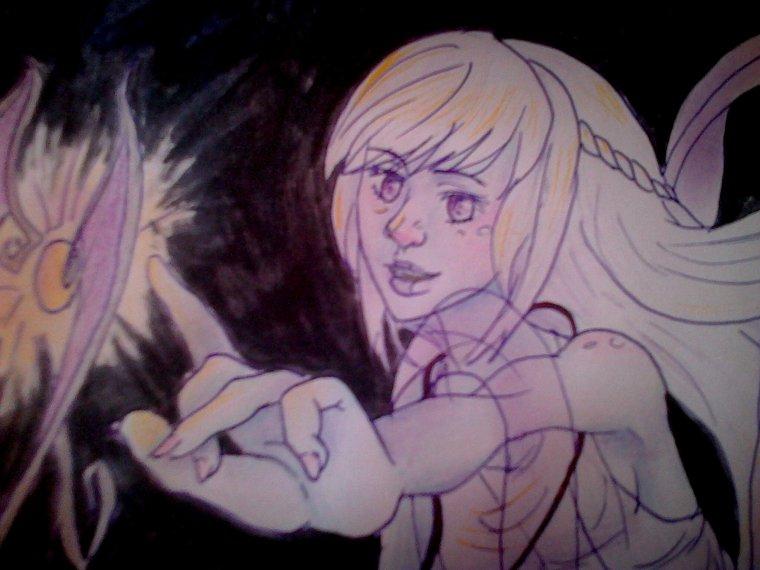 Halloween -Aolie en fantôme