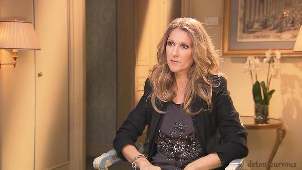 Aujourd'hui ,vendredi 15, Céline était dans 50 Minutes Inside sur TF1 vers 19h00