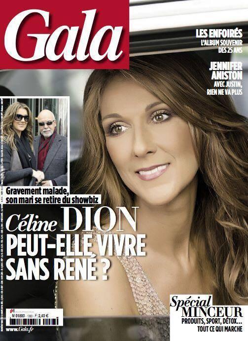 GALA Céline Dion: Prête à vivre sans René?