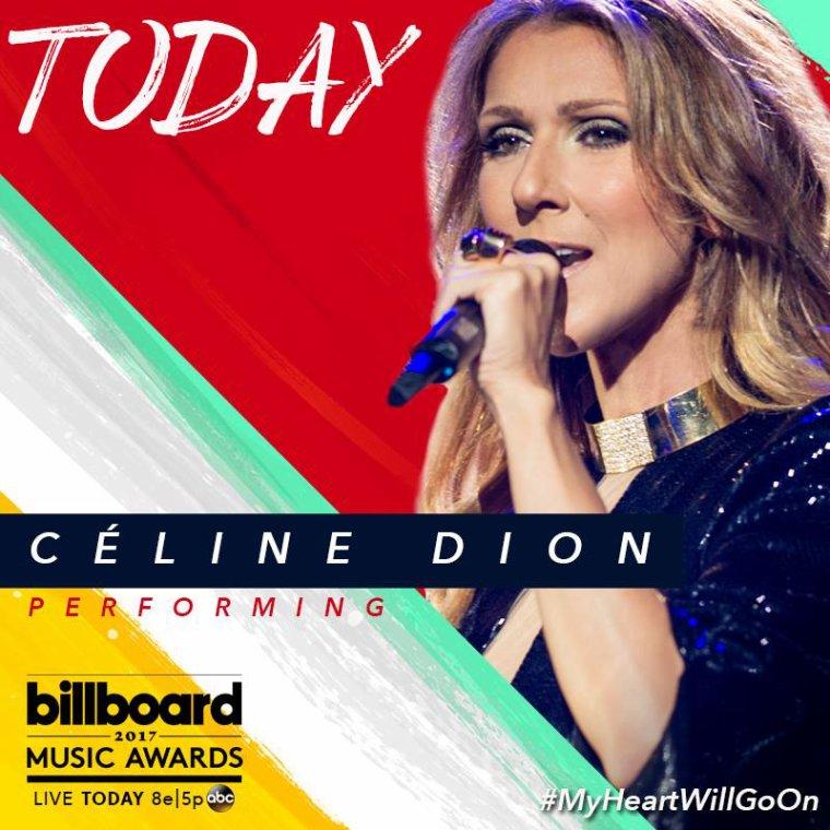 Ce soir, Céline Dion sera très honoré » de chanter « My Heart Will Go On » au Billboard Music Awards 2017.Pour fêter les 20 ans de cette chanson mythique !