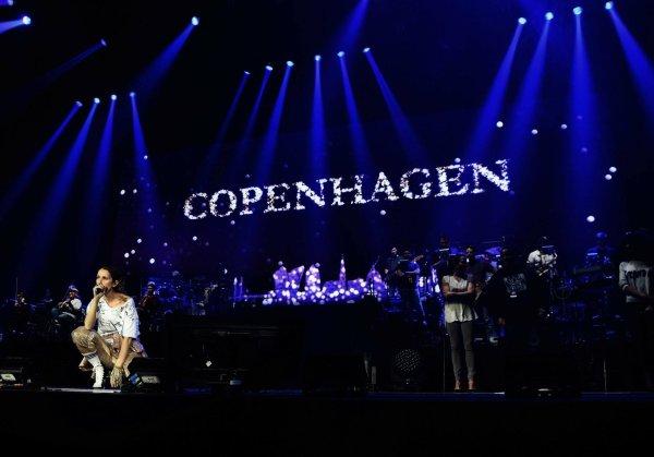 Jour J   🎤 Ce soir Céline à Copenhague le 15 Juin 2017